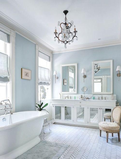 Glamour Bathroom!  Home Decor Trends!