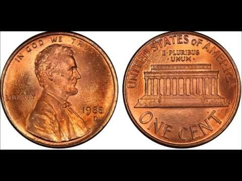 The $100,000 00 1958 Doubled Die Obverse Lincoln Cent Rare