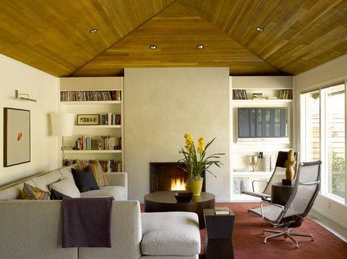 Cozy modern living room by garret cord werner on houzz com