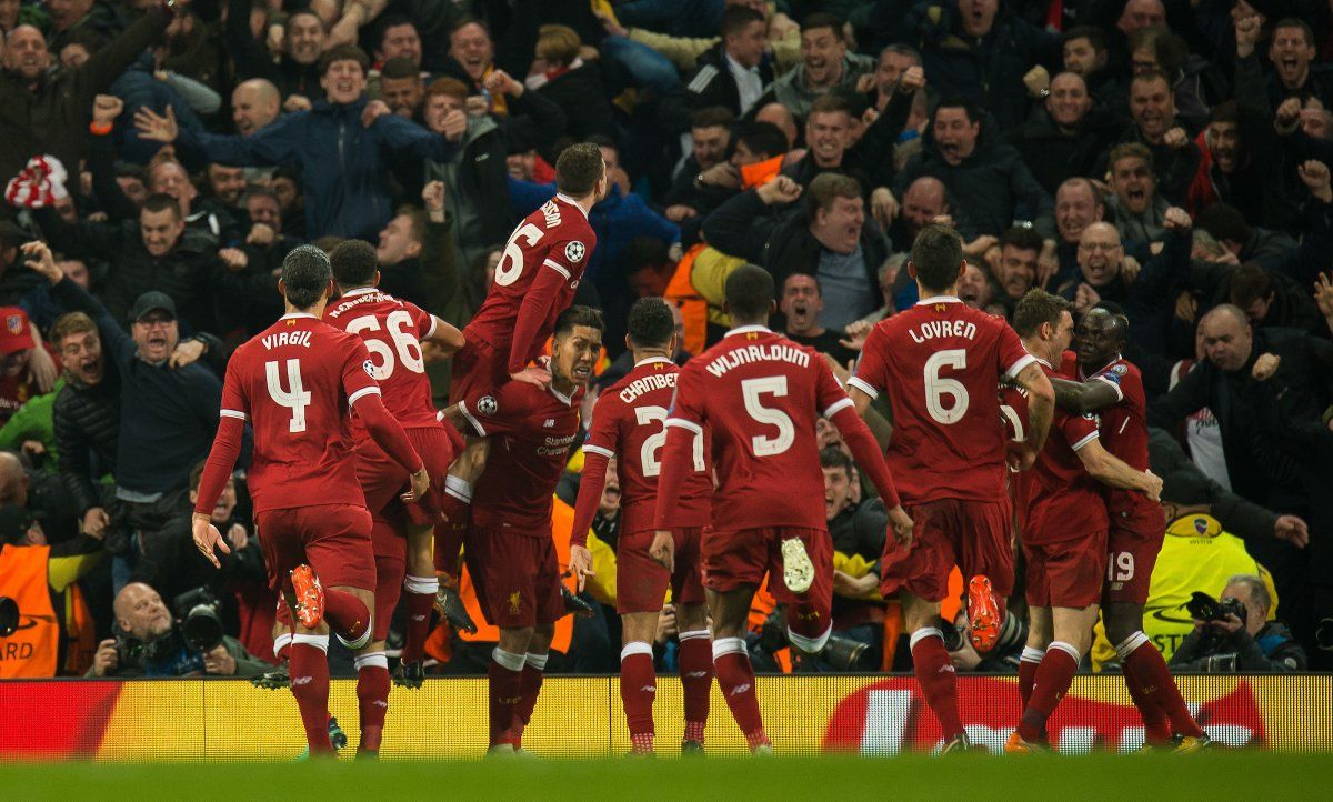 UEFA Champions League SemiFinal (Second Leg) MCFC 1 LFC 2
