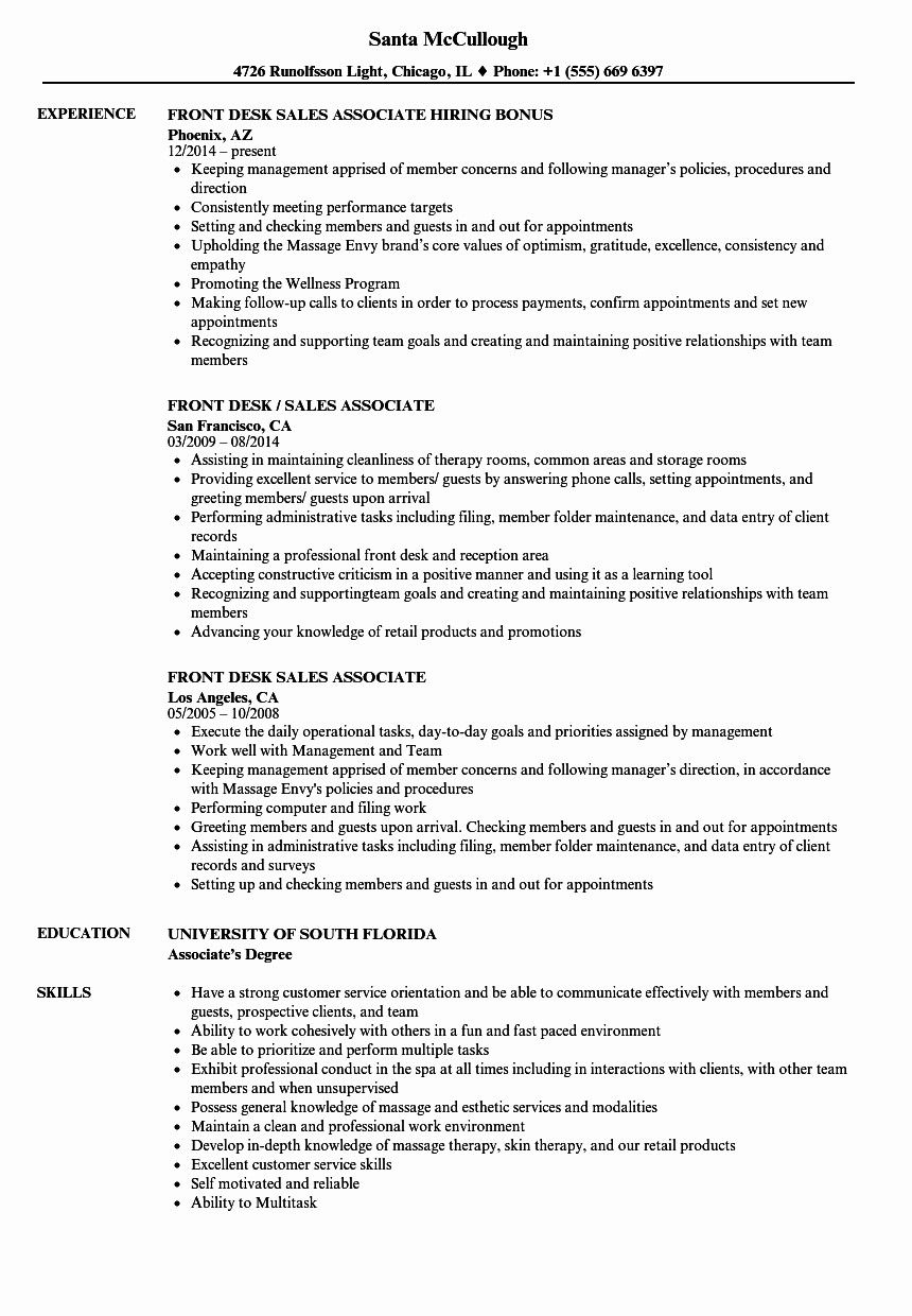 50 Unique Cashier Sales associate Resume in 2020 Sales