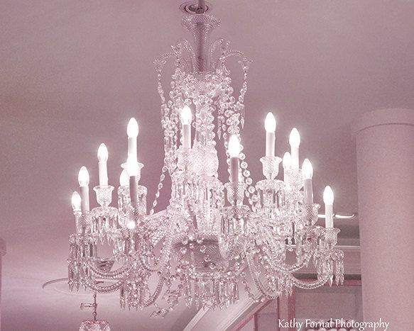 Paris shabby chic chandelier baby girl nursery pink chandelier paris chandelier print paris shabby chic pink and white crystal chandelier