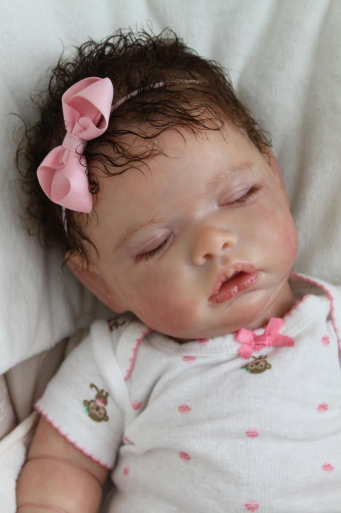 Reborn Doll Baby Girl Newborn Sleeping From Tate Kit By