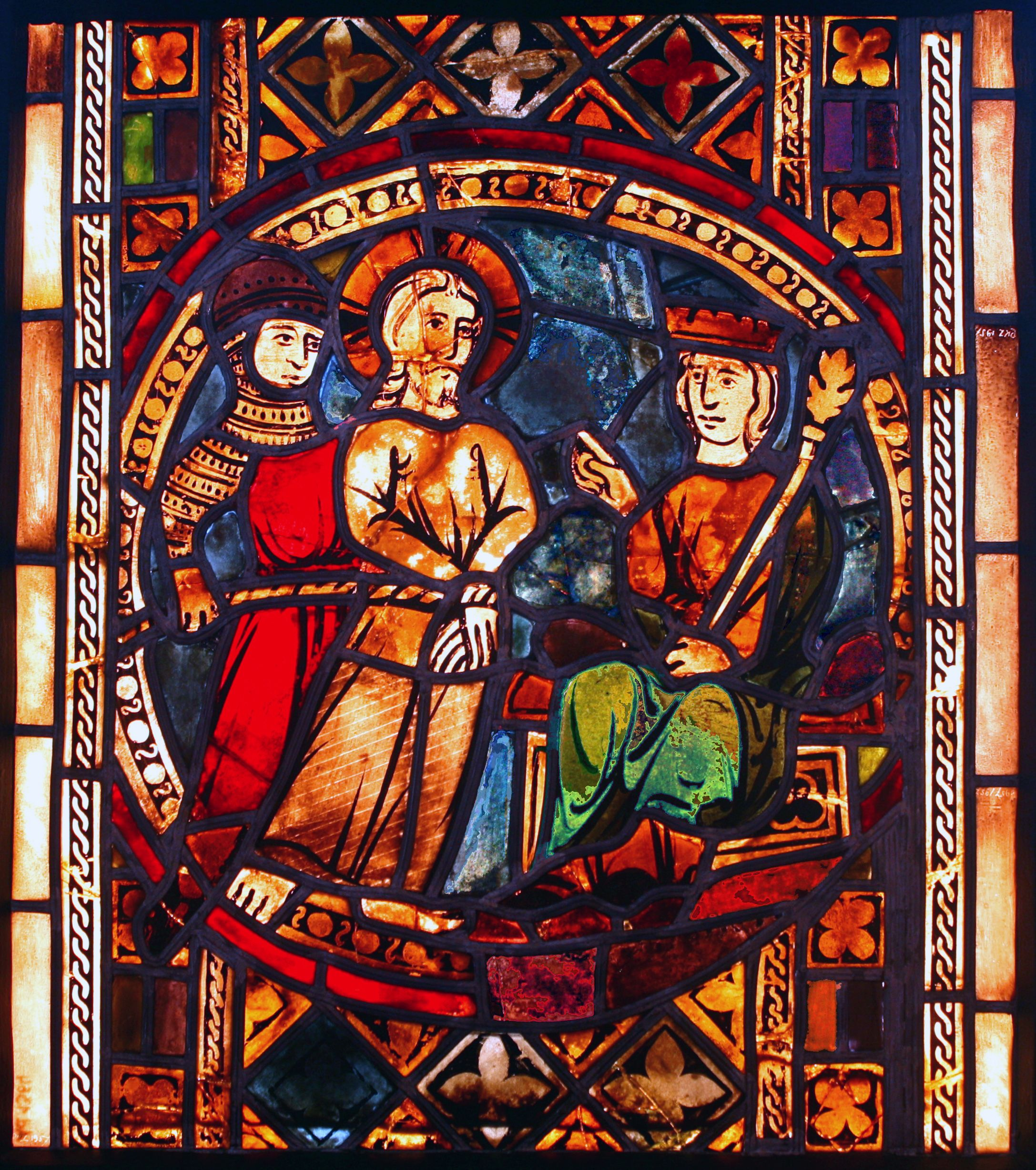 Gothic Stained Glass During The Period And Renaissance Was One Of