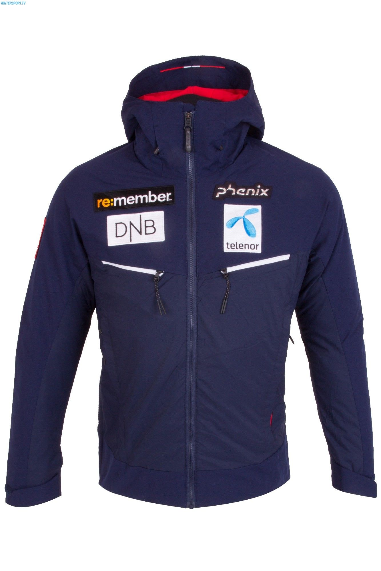 1b539d2eaea3 Phenix Men Norway Alpine Team Down Hybrid Jacket - Navy