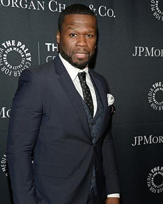 """Curtis """"50 Cent"""" Jackson attends The Paley Center for Media's Hollywood Tribute to African-American Achievements in Television, presented by JPMorgan Chase & Co., on Monday, October 26 at the Beverly Wilshire Hotel in Beverly Hills, California (Photo credit: The Paley Center for Media)"""