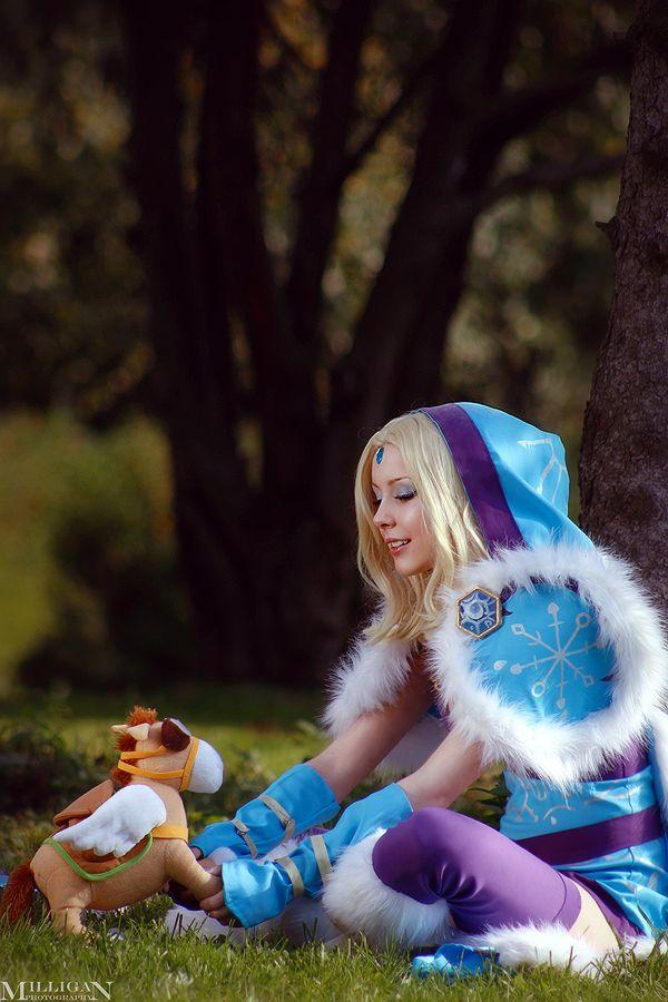 Crystal Maiden Dota 2 by ShlachinaPolina