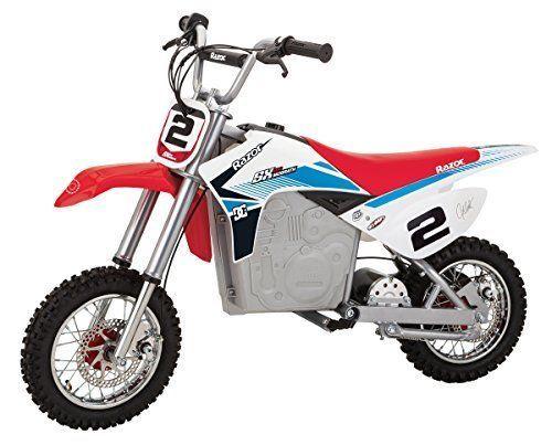 Razor Sx500 Mcgrath Dirt Rocket Electric Motocross Bike Razor Cool Dirt Bikes Dirt Bikes For Kids Kids Motorcycle