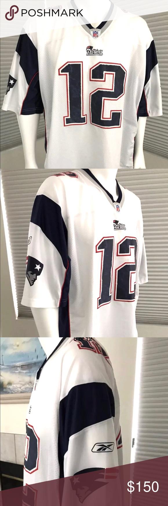 NFL Jersey Tom Brady 2XL/2EG/2GT Reebok | Reebok, Clothing care ...