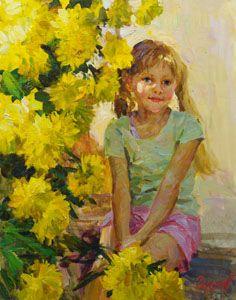 """Golden balls"" by Vladimir Gusev,  2015, oil on canvas, 50x40 cm."