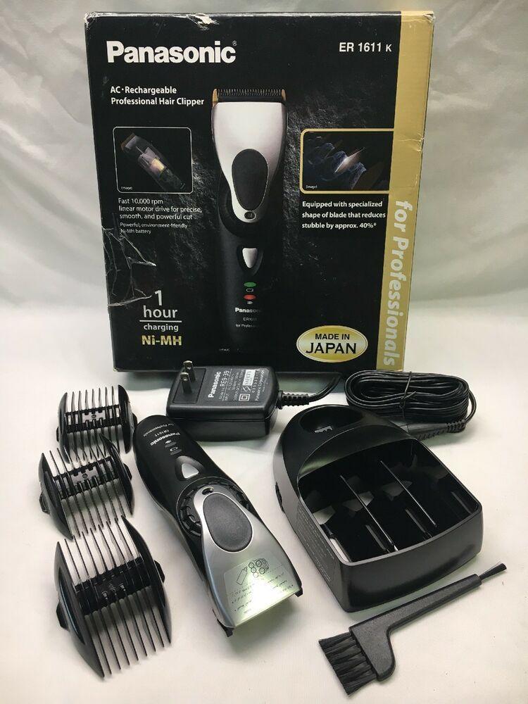 Panasonic ER1611 ER1611k Professional Rechargeable Hair Trimmer Clipper IT