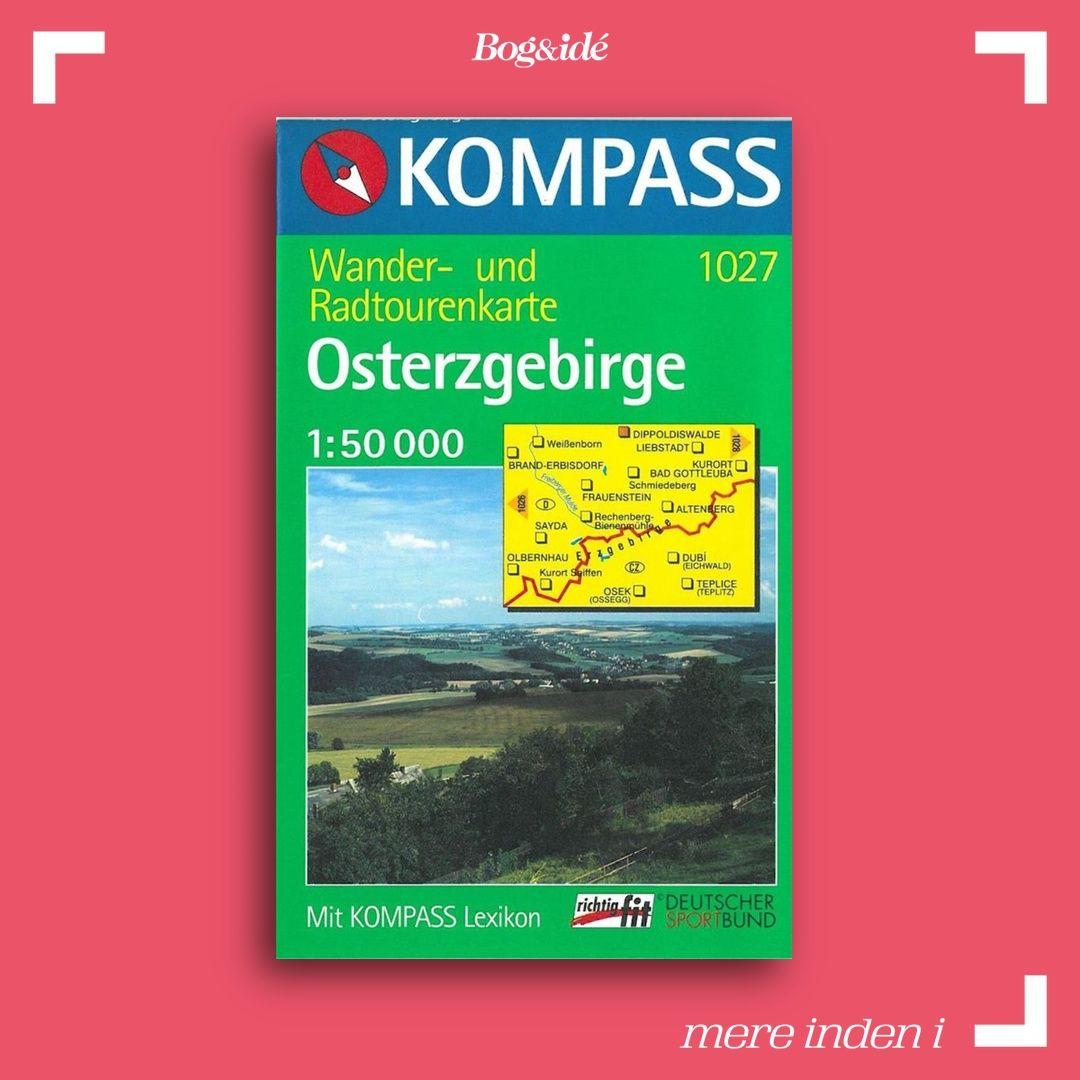 Osterzgebirge, Kompass Wanderkarte 1027