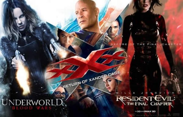 Movie Releases in January 2017: Underworld: Blood Wars, xXx: Return of Xander Cage, Resident Evil: The Final Chapter and More
