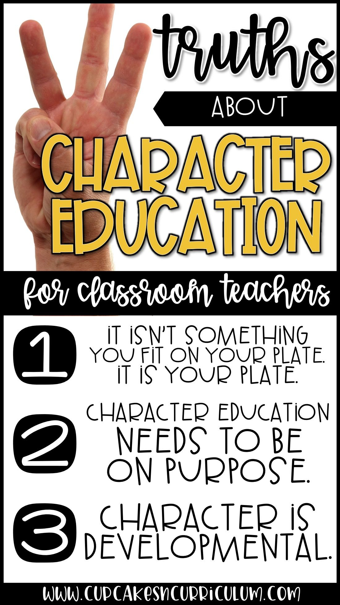 3 Truths About Character Education For Classroom Teachers