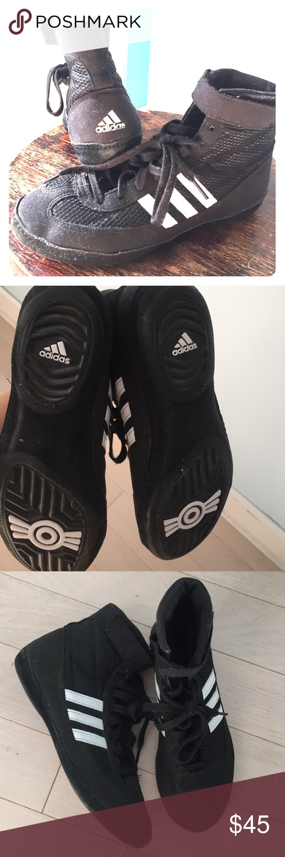 Adidas boys boxing sneakers Boys boxing sneakers great condition Adidas Shoes Sneakers