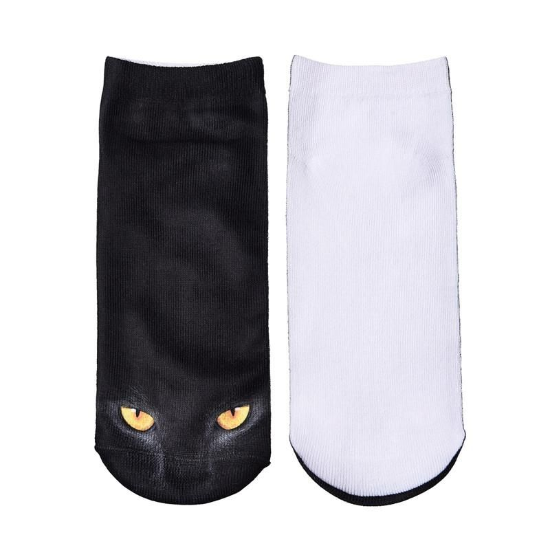 skcosocks hot 3d printed socks women funny short sock cat unicorn emoji galaxy pattern low cut