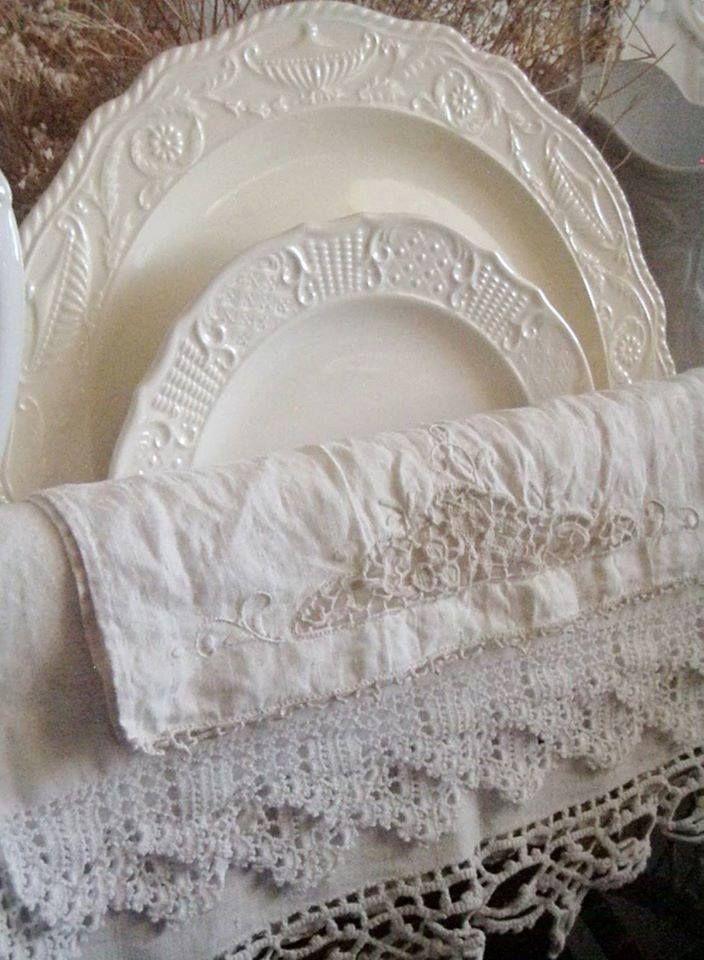 Blanche vaisselle