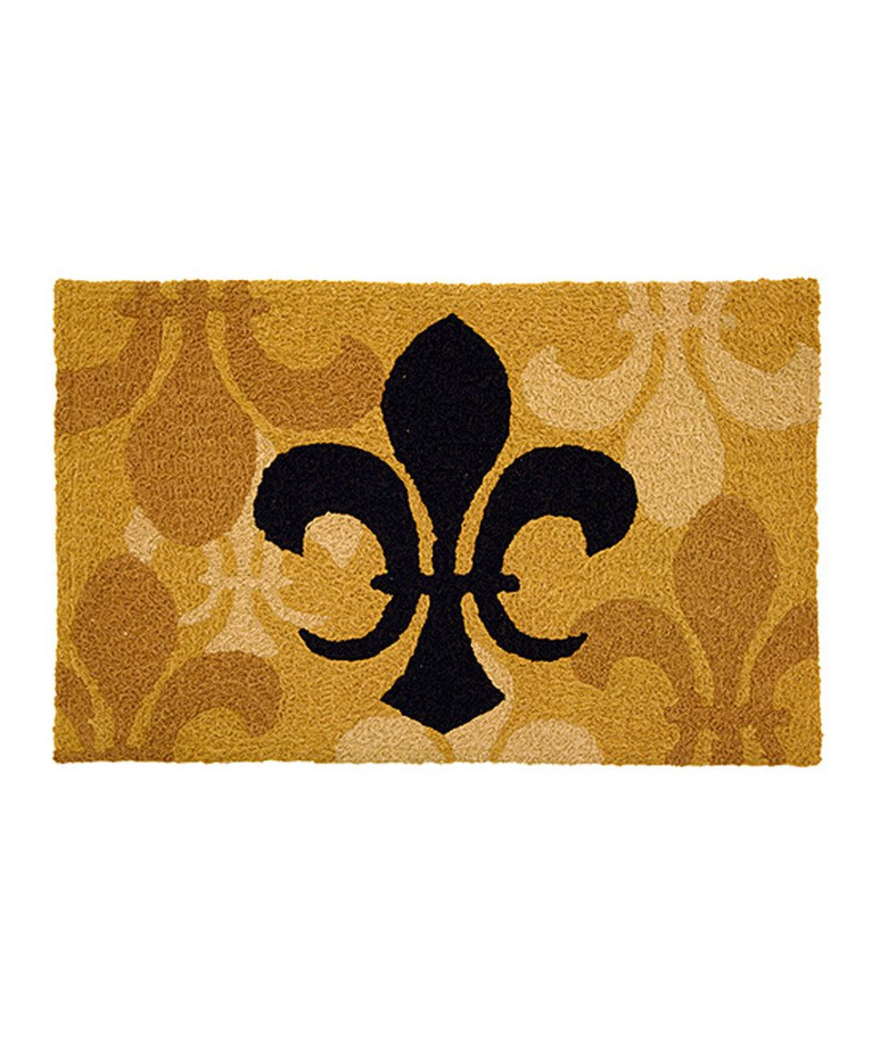This Fleur De Lis Rug by Jellybean Rugs is perfect! #zulilyfinds