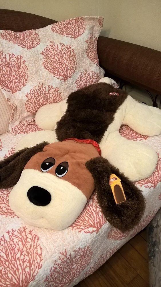"HUGE GIANT Soft 36"" Pound Puppies Beagle Plush Dog"