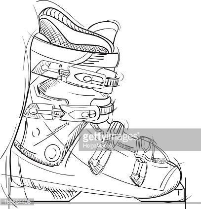 Black Boots Cartoon