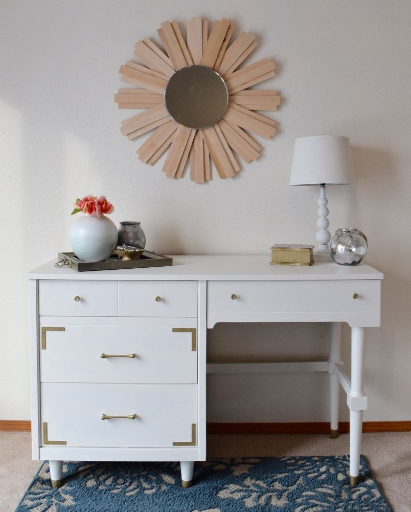 Up-Cycled Desk With Hardware