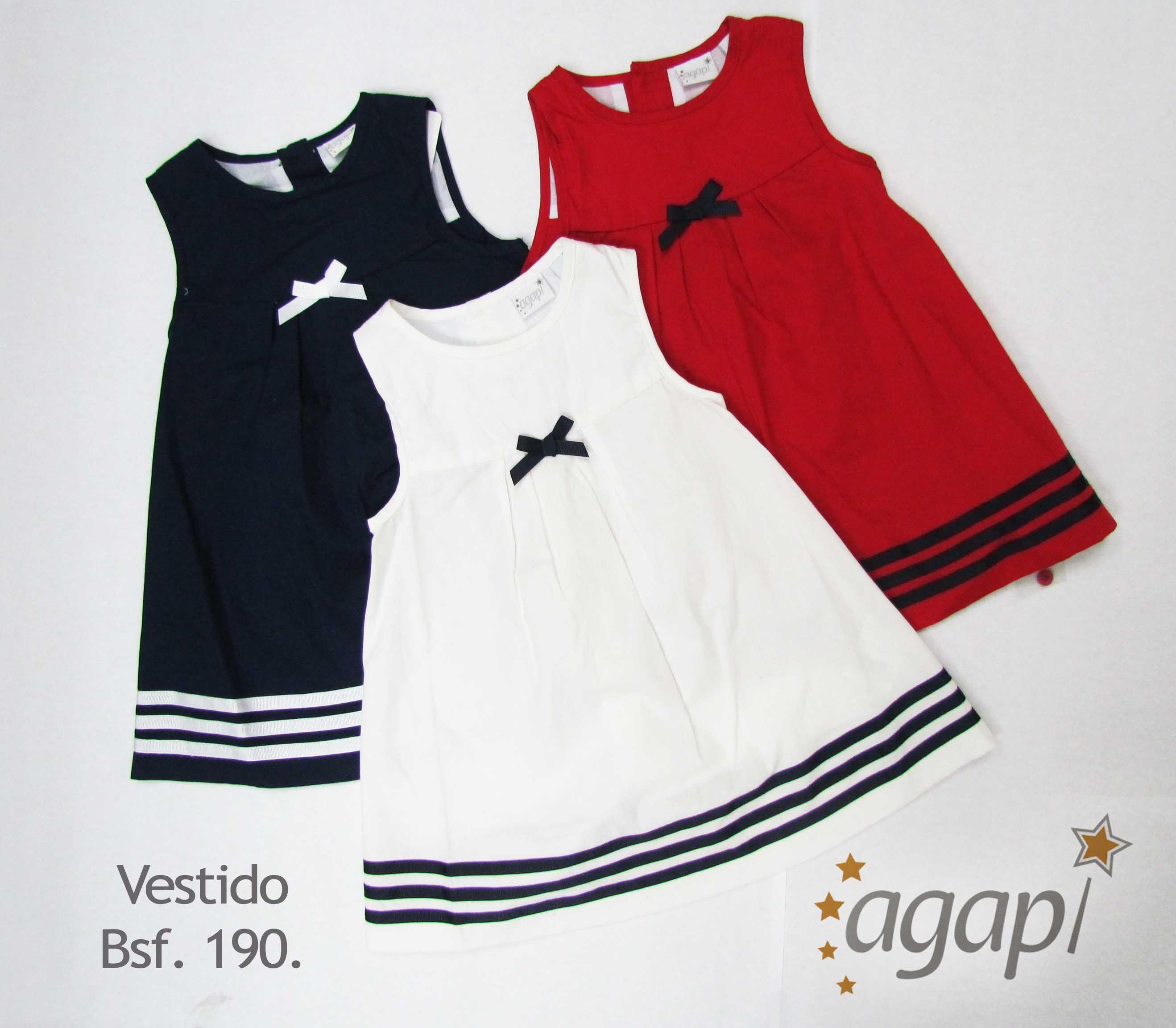 9d0e12311cc Vestidos para niña marca Agapi