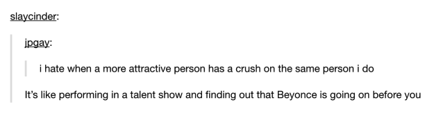 This perfect analogy: | 22 Tumblr Posts That Perfectly Summarise Crushes