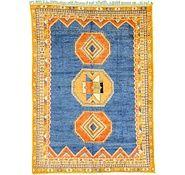 Blue 9' 10 x 13' 6 Tribal Moroccan Rug   Oriental Rugs   eSaleRugs