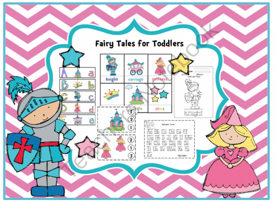 fairy tales for toddlers from preschool printables on 35 pages. Black Bedroom Furniture Sets. Home Design Ideas
