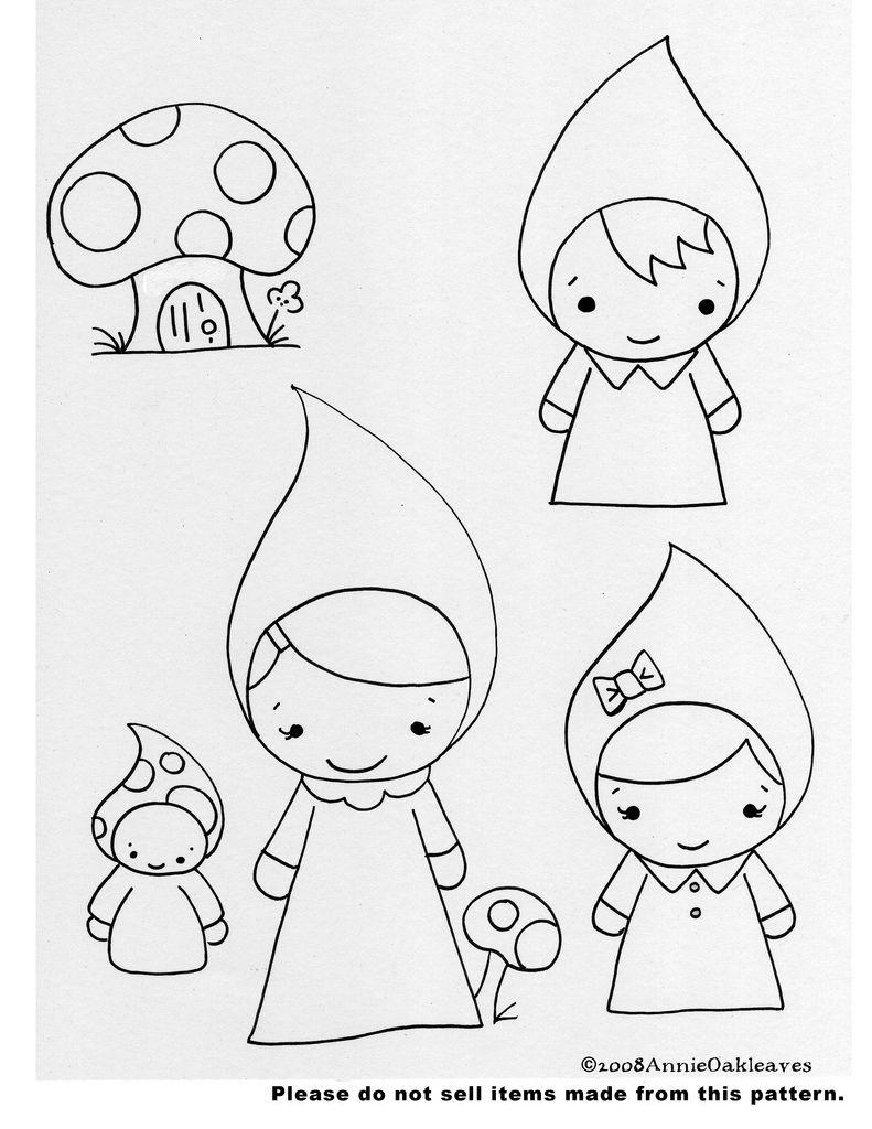 Mushroom Gnomes | CAMISETAS | Pinterest | Pintura de halloween ...