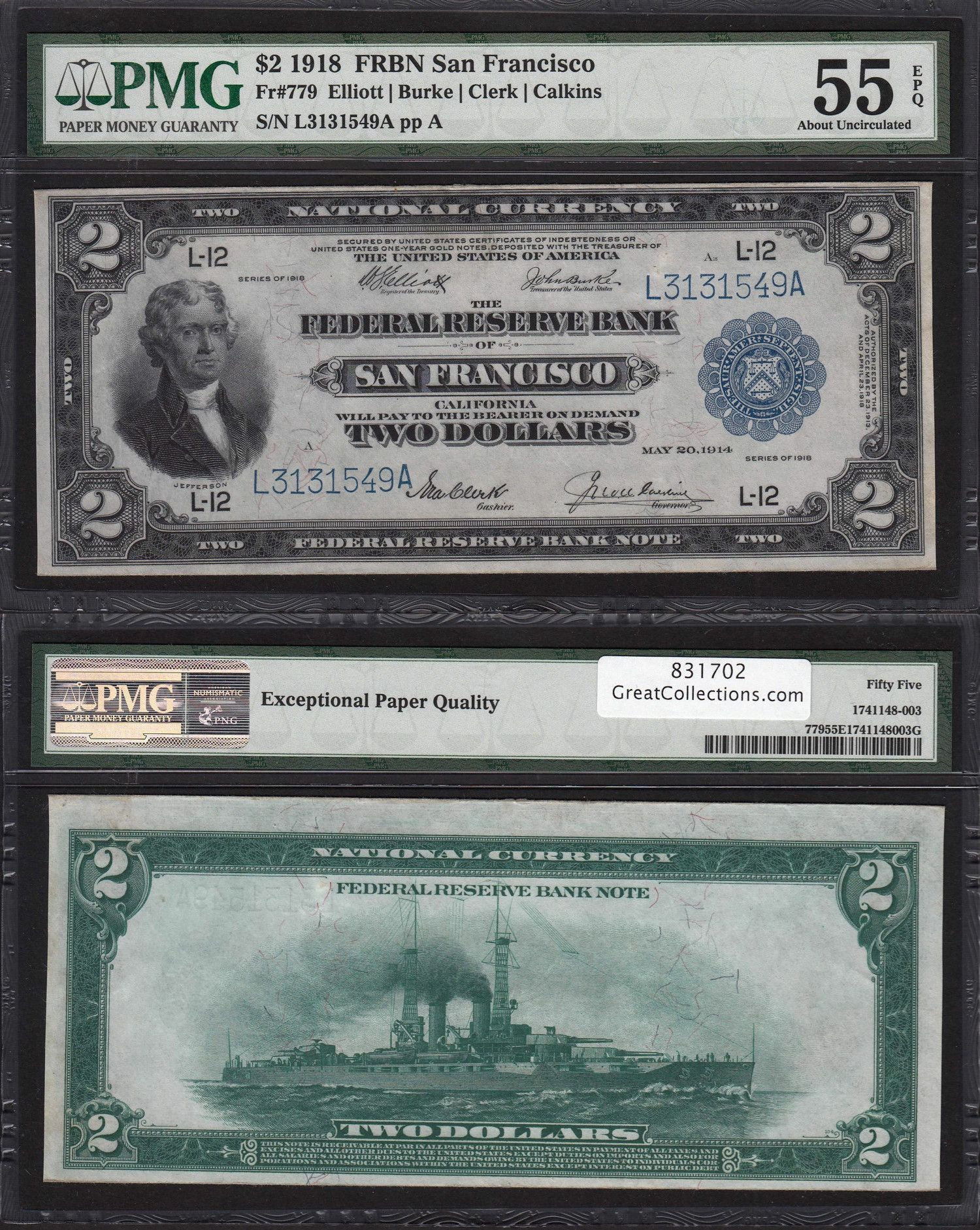 Pin By Scsproull On Numismatics In 2020 Bank Notes Federal Reserve Paper Money