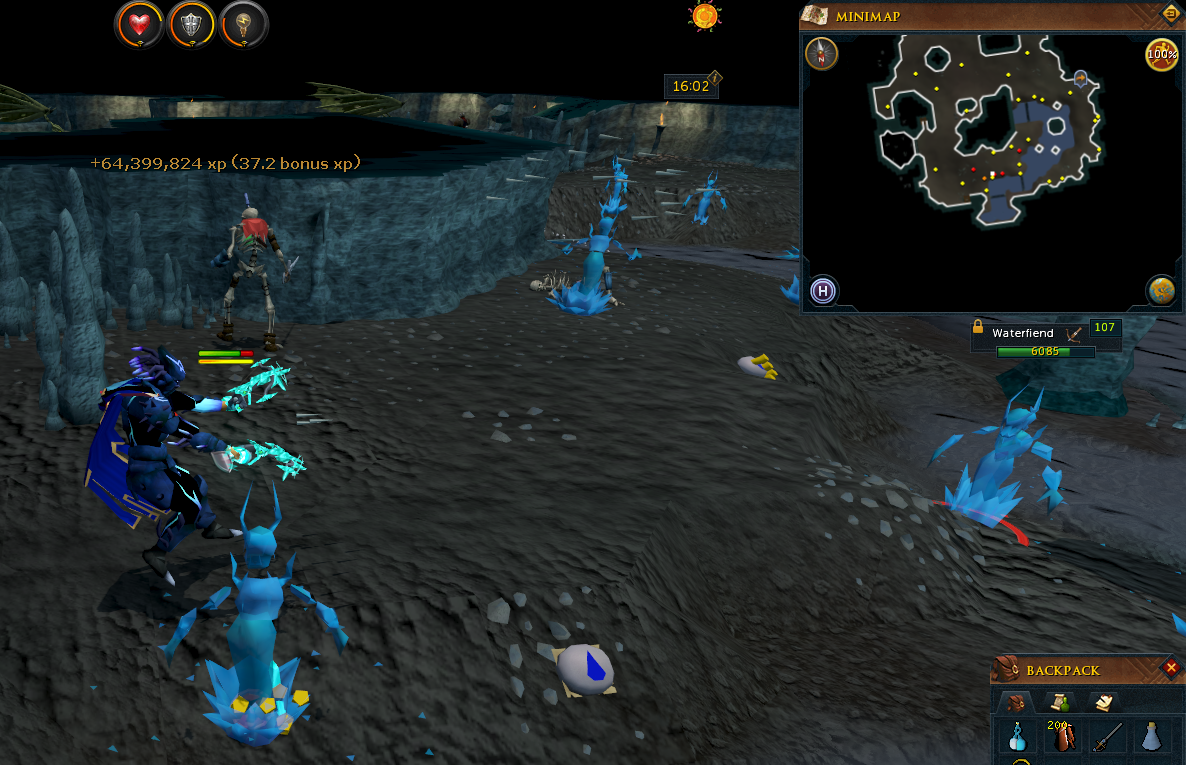 1-120 ranged in less than a minute. Bug abusers rejoice!