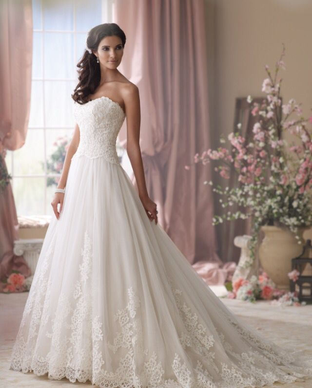Wow!! Your Wedding has to be your perfect idea!! Well, picking the right dress Makes it perfect wether it's big or small it has to show you! So pretty and Beautiful!