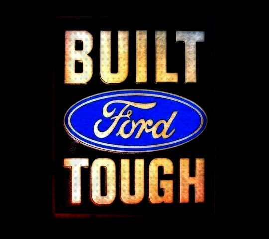built ford tough this logo was designedc. harold wills, and i