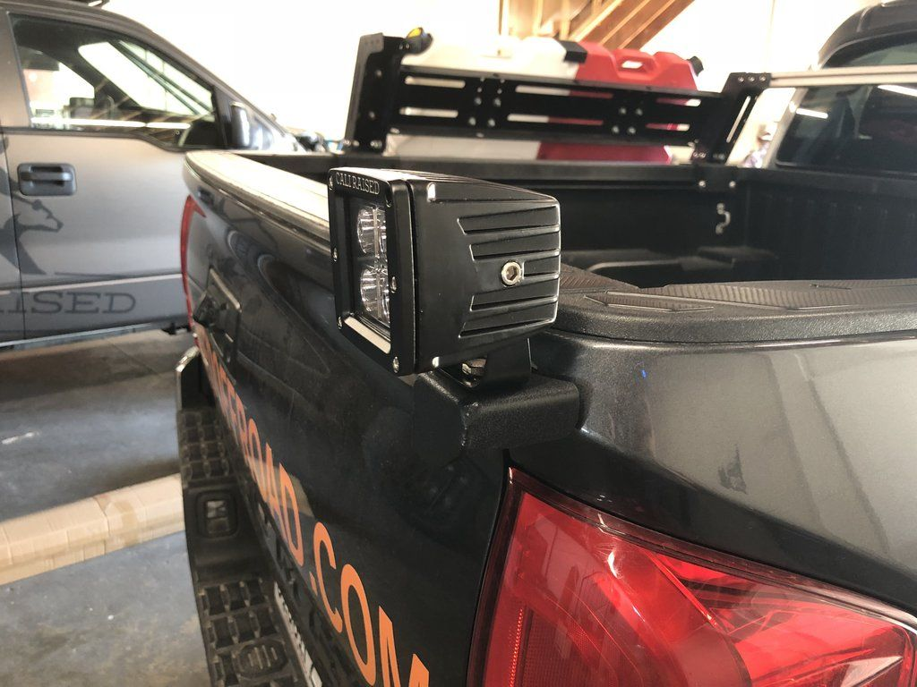 2016 2020 Toyota Tacoma Bed Accessory Mount In 2020 Toyota Tacoma Tacoma Accessories Toyota Tacoma Accessories