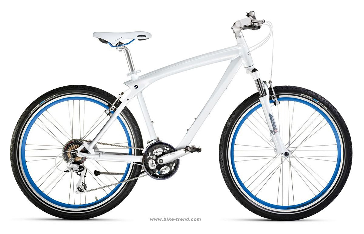 Bmw Bicycle >> Bmw Bicycles Bmw Cruise Bike White Blue Colour