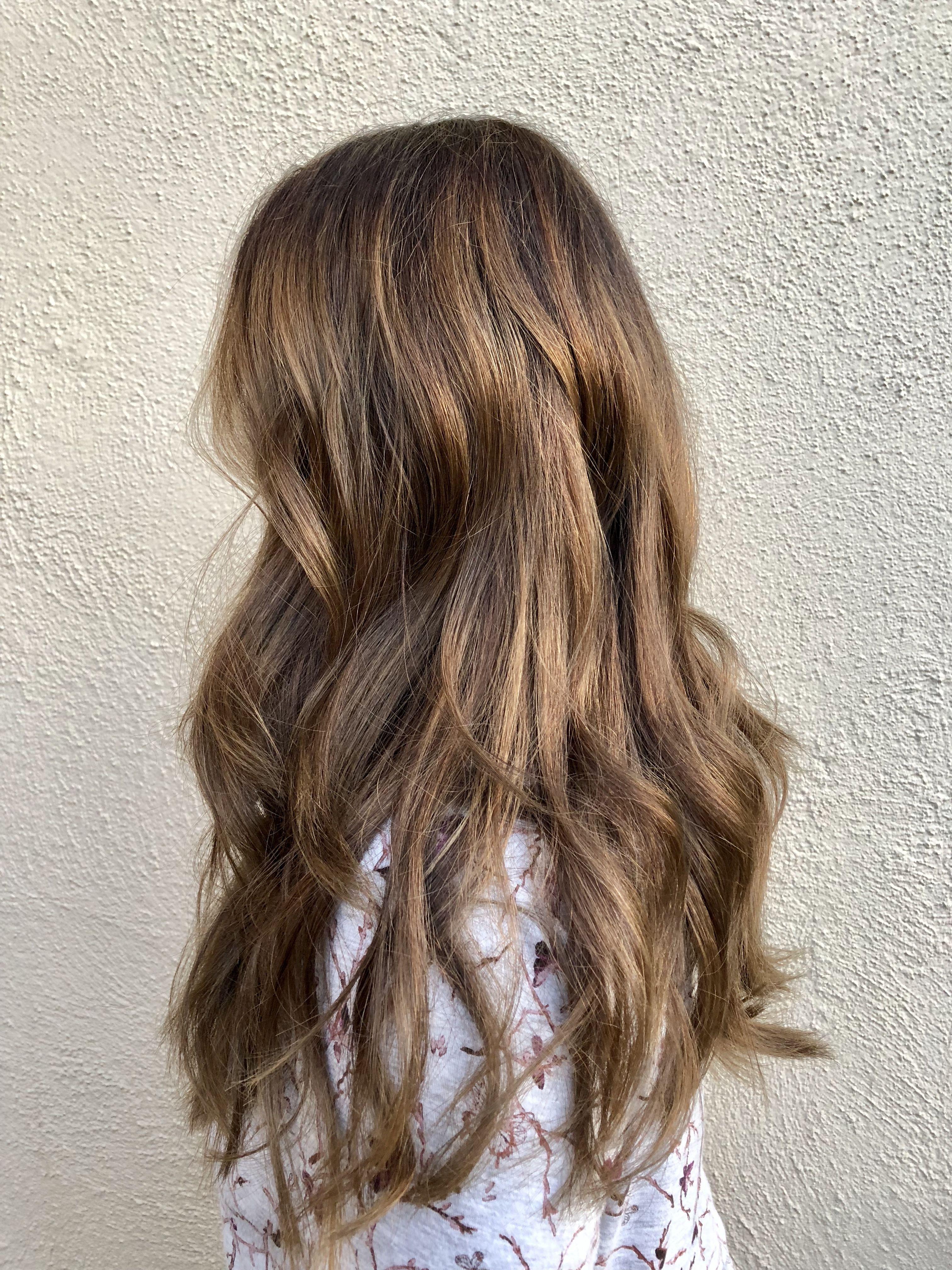Balayage hair hairbyorit haircolor pravana color sunkissedhair