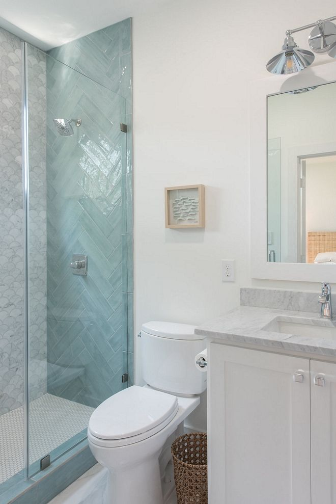 Beach Theme Bathroom Tile Ideas