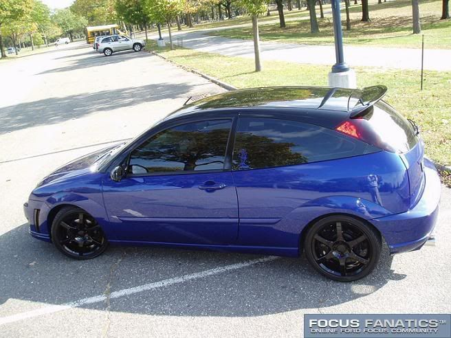 Two Toned Sonic Blue Zx5 With Sap Ford Focus 2004 Ford Focus