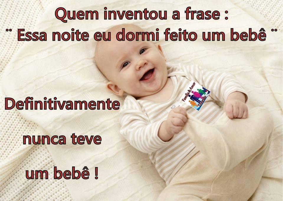 Boa Noite Mae: Quem Inventou A Frase: Essa Noite Eu Dormi Feito Um Bebê