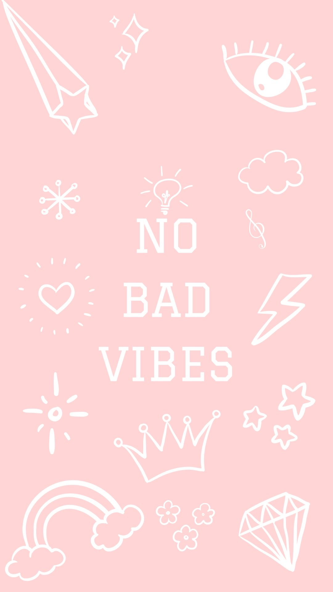 No Bad Vibes iPhone Wallpaper Iphone wallpaper, Vibes