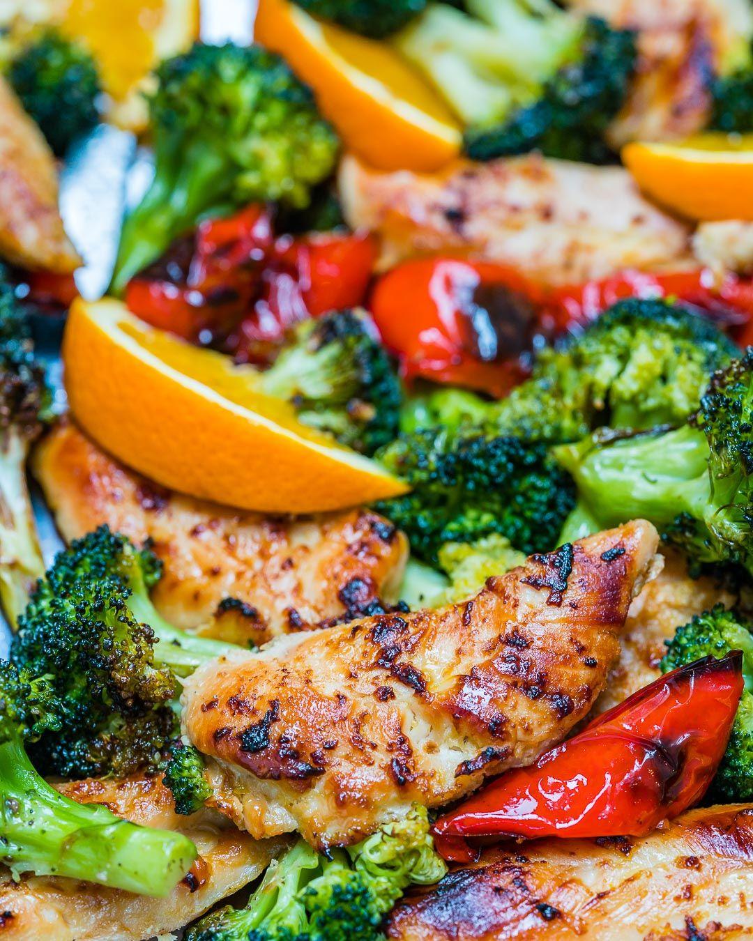 99 Chicken Dinner Ideas To Try Tonight: Sheet Pan Orange + Ginger Chicken