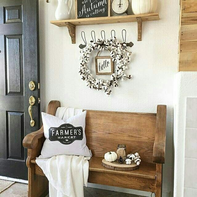 Best of Posts about Entryway & Mudroom on ZZ Home Decor Unique - Lovely country farmhouse decor Photo