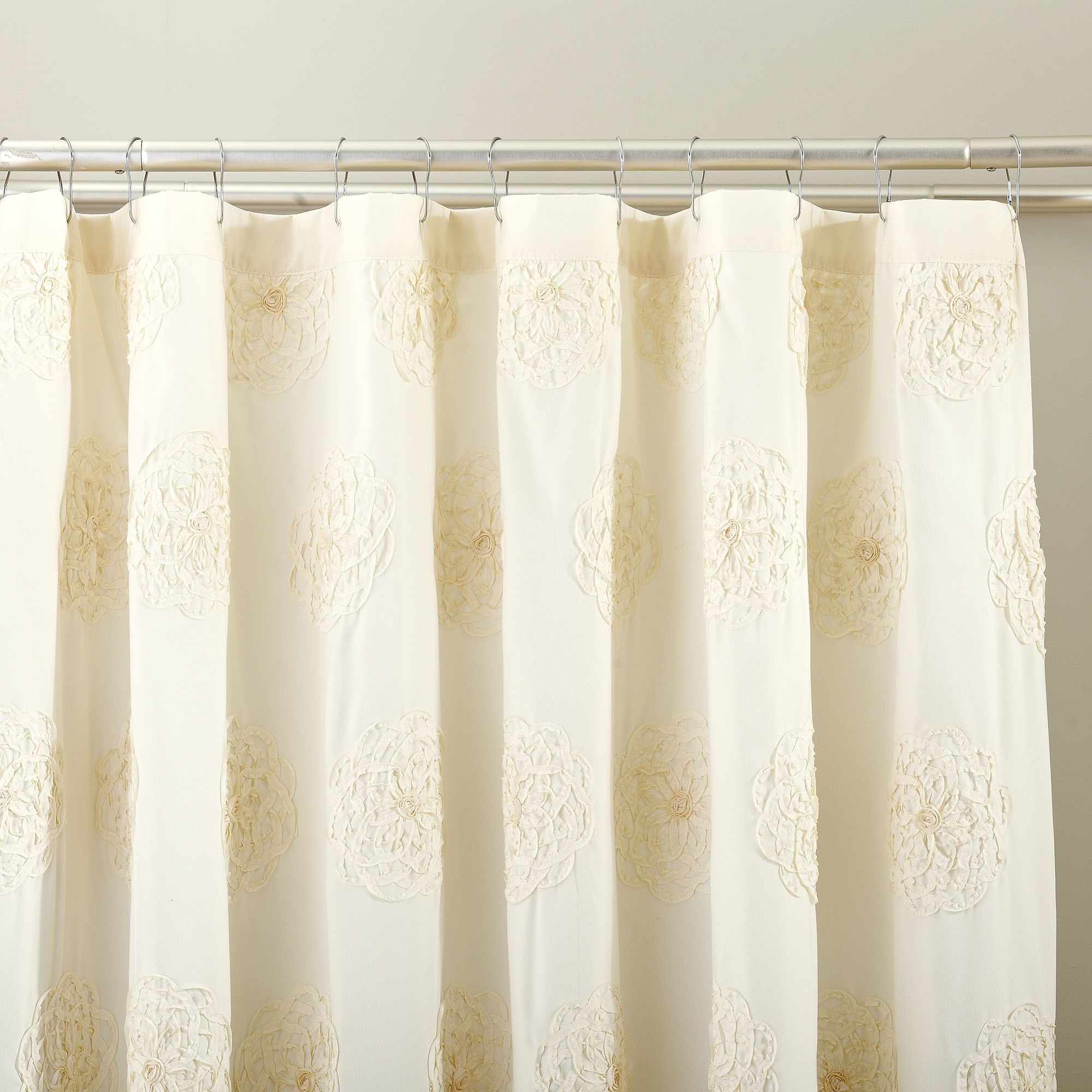 Samantha embroidered shower curtain products pinterest products