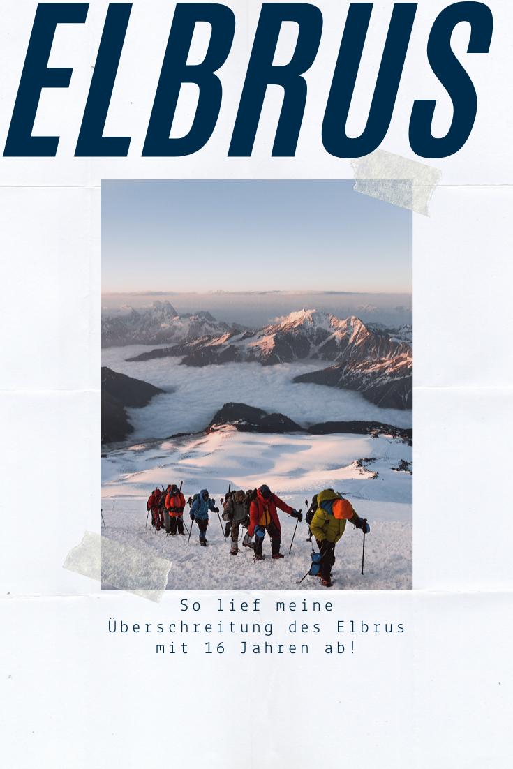 Elbrus Besteigen Russland Berg Touren