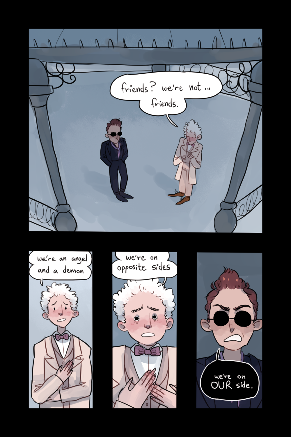 Pin by Victoria Roberts on Good Omens in 2019 | Good omens book