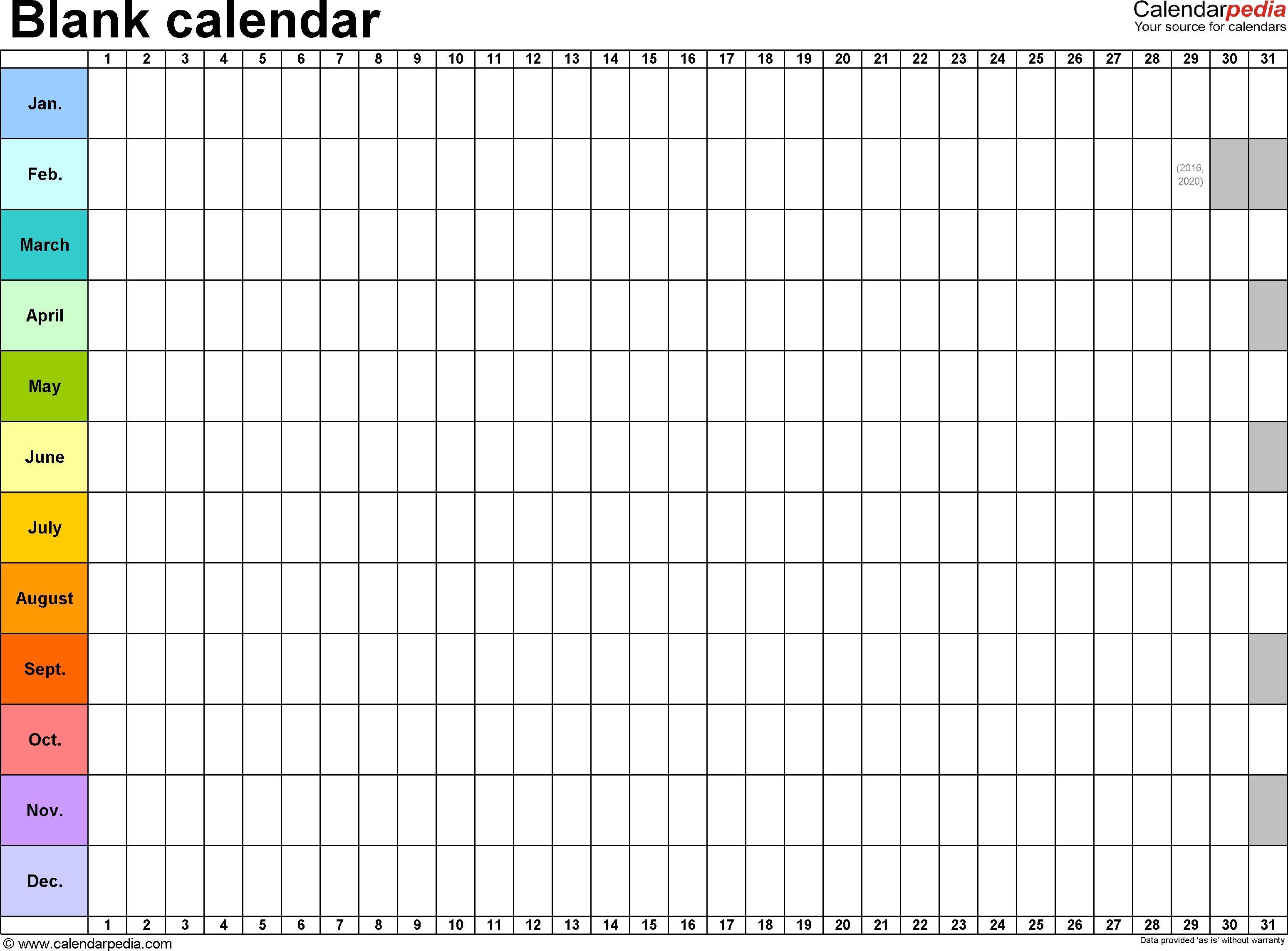 Dashing Free Calendar Blanks To Print Monthly Calendar Printable