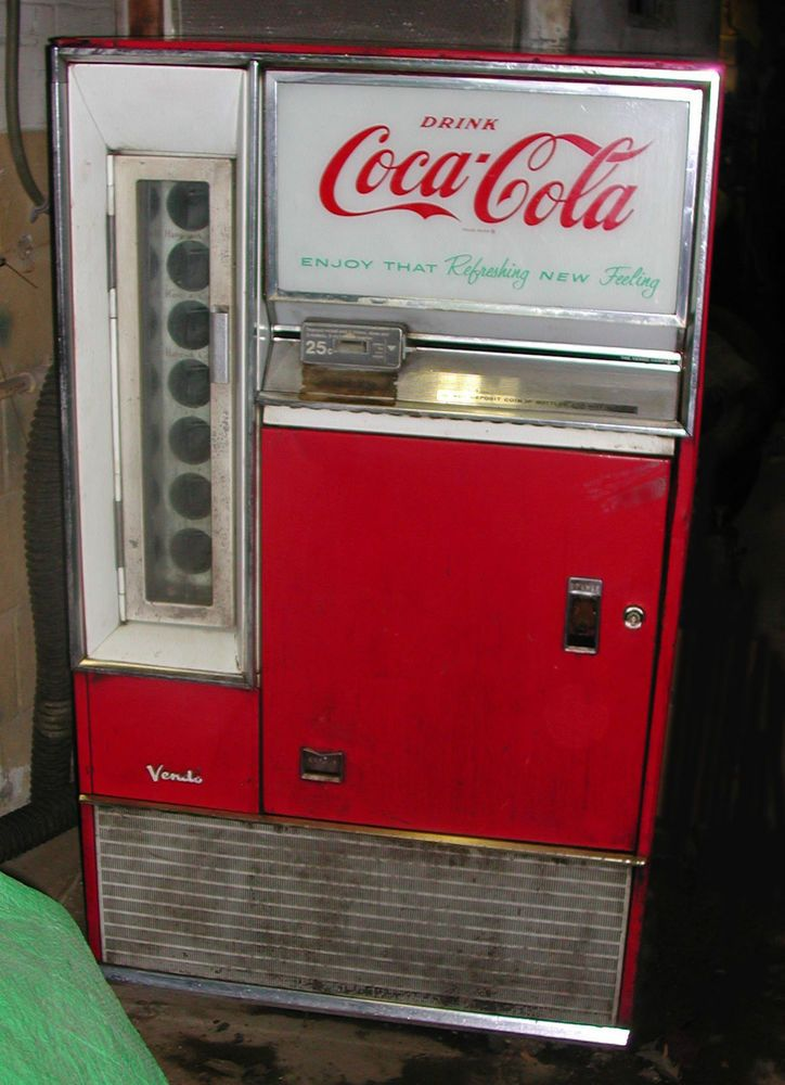 coca cola vending machines Coca-cola or coke is now one of the most famous products in coke vending machines the first coca-cola vending machine was invented in 1929.