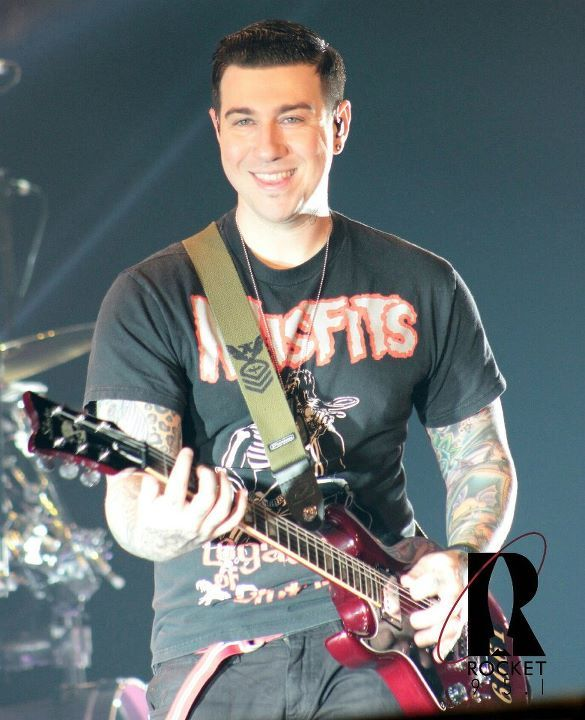Zacky Vengeance--guitarist for A7X--absolutely adorable