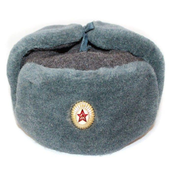 c54174fe6 Russian Army Soviet military original fur winter Officer's hat ...